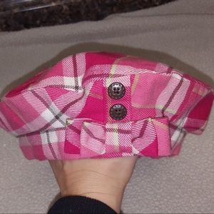 Janie and Jack Toddler Girl 2to 3T plaid beret